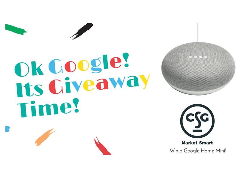 Ok Google! It's Contest Time!