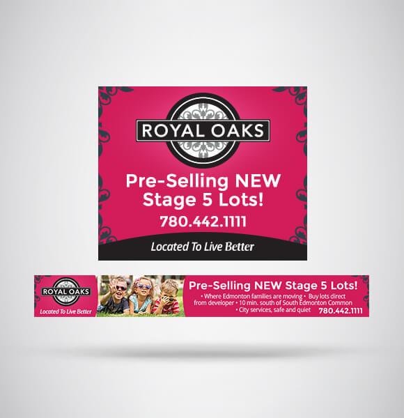 Online Campaign Portfolio   Royal Oaks